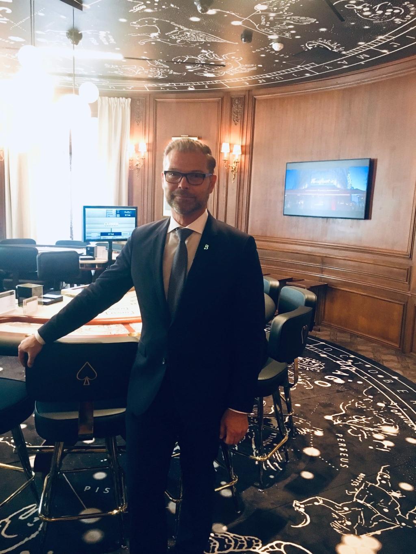 Eric Michelet, directeur général du Club Barrière
