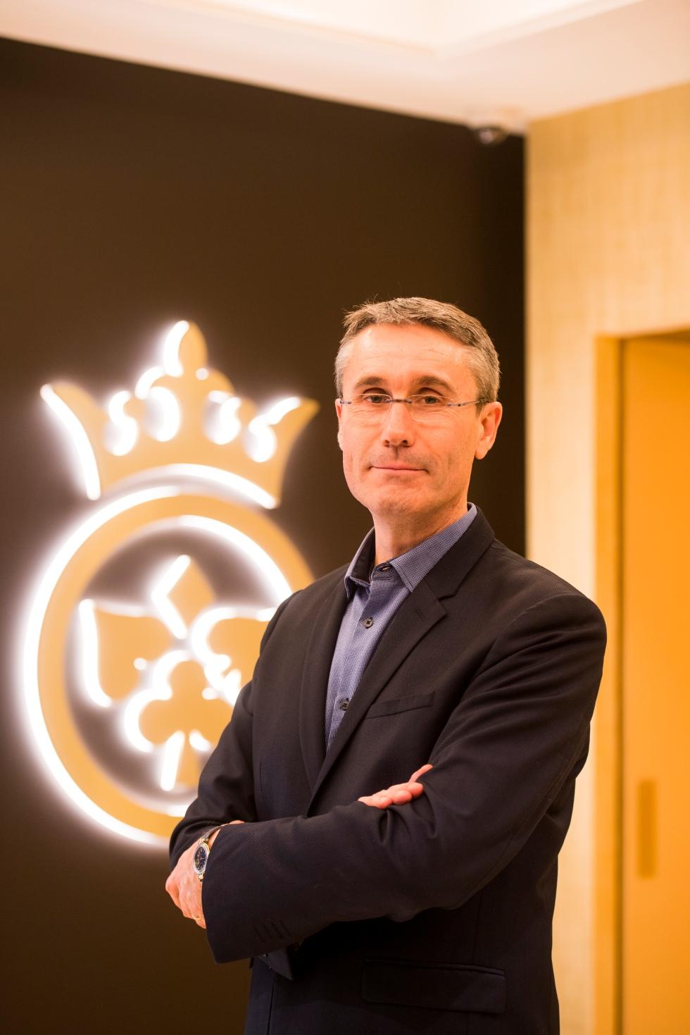 Christophe LE BERRE - Directeur du CLUB JOA ROYALE ©G Perret