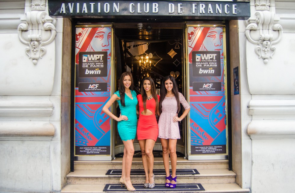 En 2013, devant l'Aviation Club de France / Copyright WPT
