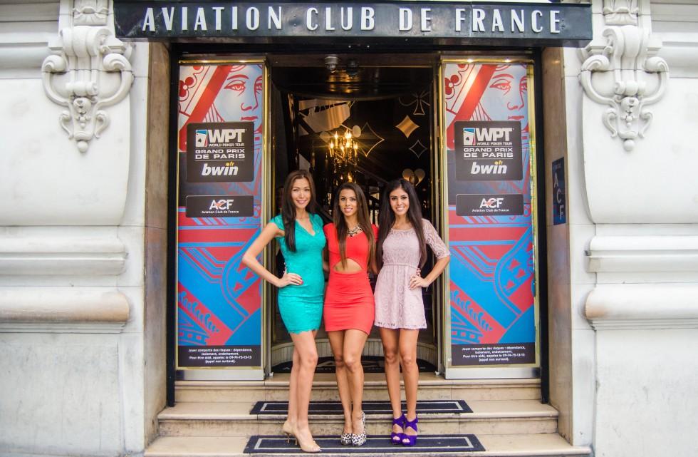 En 2013, devant l'Aviation Club de France / Copyright WPT